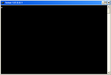 telnet succeed connect to sql