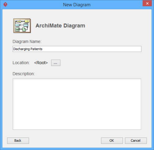enter diagram name and description