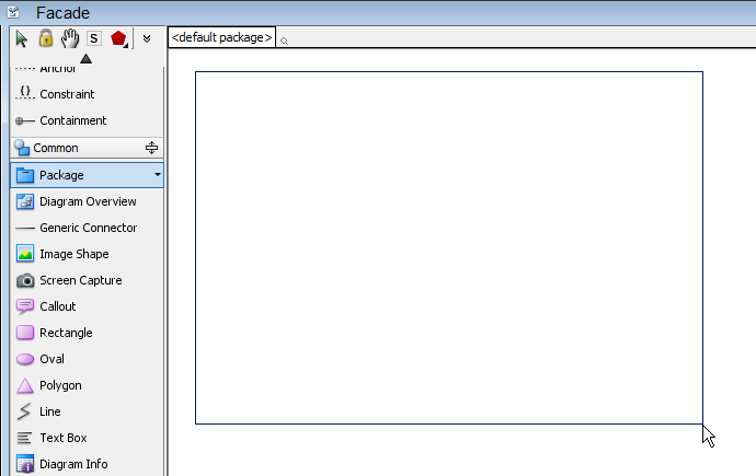 Working with facade design pattern for Drawing packages