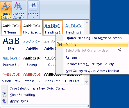 how to change name on pdf heading