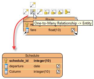 define one to many relationship database design
