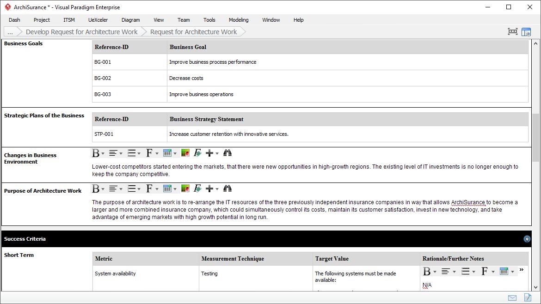 Form filling deliverable composer