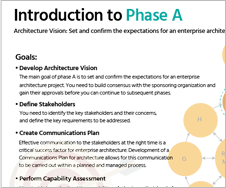TOGAF - Introduction to Phase A