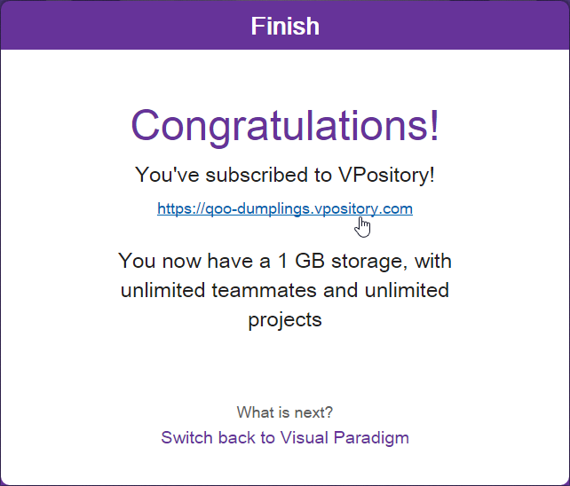VPository subscription ready