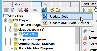 1 generate code