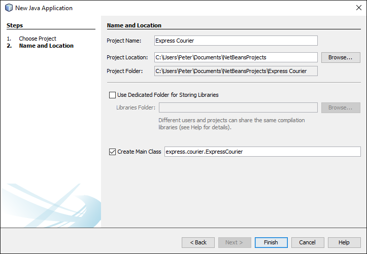 netbeans how to create database