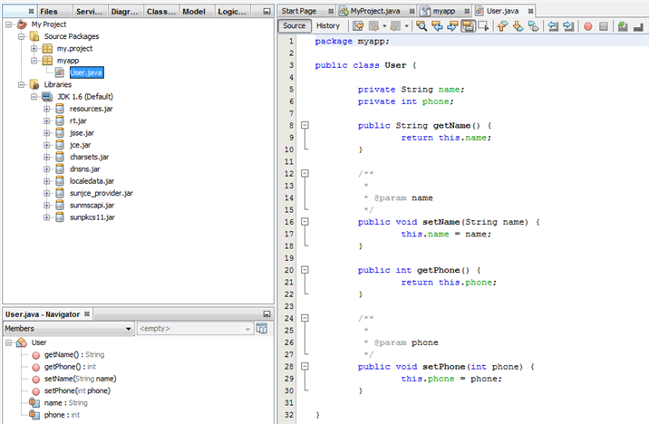Perform UML Modeling in NetBeans